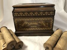 Gately Automatic Roller Organ With 6 Music Rolls