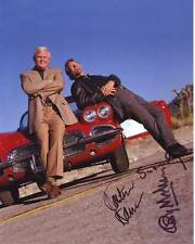 GEORGE MAHARIS & MARTIN MILNER Signed ROUTE 66 Photo w/ Hologram COA