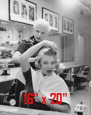 "Marilyn Monroe~Hair Salon~Spa~Barber~Photo~Decor~Stylist~Poster~16""x20"""