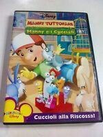 DVD MANNY TUTTOFARE MANNY E I CUCCIOLI CUCCIOLI ALLA RISCOSSA