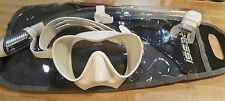 Cressi F1 Frameless Dive Mask and snorkel