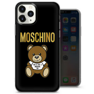 Custom art design Inspired Moschino phone cases and covers for al iPhone 8 11 12