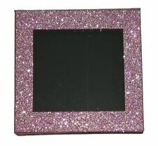 PINK SPARKLY EMPTY Z PALETTE FOR PRESSED GLITTER EYESHADOW OR LOOSE PIGMENT