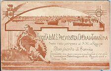 CARTOLINA d'Epoca - PUBBLICITARIA : TARANTO -  1907  1908 - ASSICURAZIONI