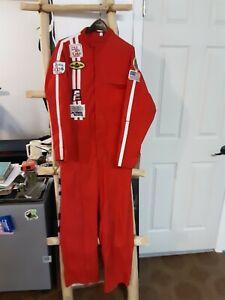 Vintage Jeep Offroad Racing Coveralls Size Medium Tall