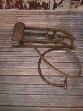 Vintage Old Dunlop Junior Classic Car Foot Pump Collectible Tool Prop Display
