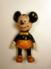Mickey culotte orange figurine plastique TBE