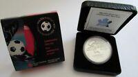 Kanada 5 Dollars 2003 Fußball-WM in Deutschland 1 Oz Silber
