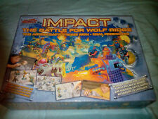 BOARD GAME - IMPACT THE BATTLE FOR WOLF RIDGE - NOT COMPLETE - LIKE WARHAMMER