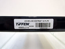 """New Tiffen 4x5.65"""" Low Contrast 1/4 Glass Filter Panavision Size Filters LowCon"""