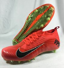 New Nike Vapor Ultimate Sz 12 Men VPR Flyknit Cleats Football Red 651338-600