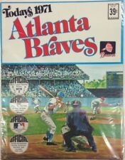 Todays 1971 Atlanta Braves 24 CT Team Stamps Uncut Issue