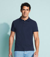 SOL'S Perfect Cotton Pique Polo Shirt Casual Collar Cosy Mens Short Sleeves SOLS