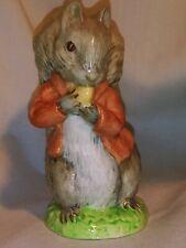 Beatrix Potter's Timmy Tiptoes Royal Albert England Figurine â'¸ 1948
