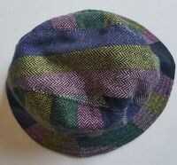 Vtg Emilio Pucci 100% Wool Geometric Bucket Hat Women Made in Italy