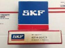SKF BEARINGS - PART# 6314-2Z/C3 -  1 PC. NEW