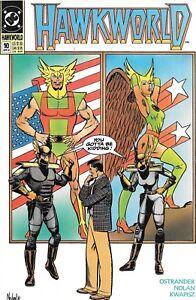 Hawkworld #10 (Apr 1991, DC) NM