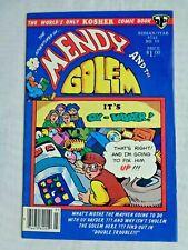 Mendy & The Golem No. 10 May 1983 Mendy Enterprise Vol. 2 Issue No. 4 VF+ (8.5)