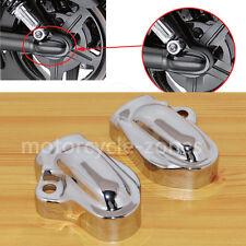 For Harley VRSC V-Rod 2002-2017 11 12 13 14 Muscle VRSCF Chrome Rear Axle Cover