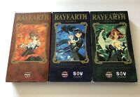 Lot Of 3 Magic Knight Rayearth Anime VHS Tapes Vol 1-3 2000 Manga English Sub