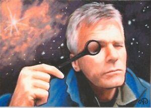 ACEO Original ~ Jack O'Neill ~ Stargate 1