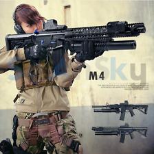 Terminator M4 Toy Gun Electric Water Bullet Bursts Gun Outdoors Battle Kids Gun