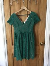 Green Lace Joanie Clothing Dress