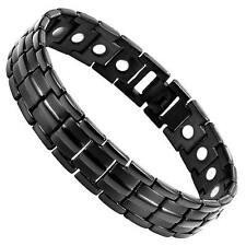ENERGY POWER TITANIUM BRACELET SCALAR QUANTUM W STRONG MAGNETS HEALTH PAIN