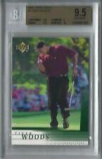 Upper Deck 2001 Golf #1 Tiger Woods Trading Card