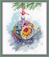 Counted Cross Stitch Kit OVEN - New Year mood