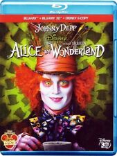 ALICE IN WONDERLAND 3D (BLU-RAY 3D + 2D) JOHNNY DEPP