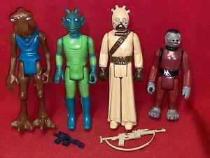 Vintage Star Wars Lot of Figures.....CANTINA ALIENS