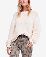 NWT Free People Menace solid tunic Sweater Retail $128