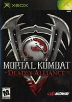 Mortal Kombat Deadly Alliance XBOX Game Used