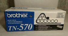 NIB  Genuine Brother High Yield TN-570 Toner Cartridge - Black - New    ANB