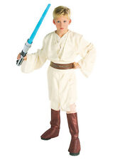 "STAR Wars Kids OBI WAN KENOBI Costume Stile, grande, ETÀ 8-10, altezza 4' 8 "" - 5"""