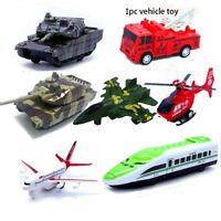 de tanque El autobus del aire Avión de juguete Vehículos de diecasts duradera