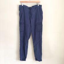 EDDIE BAUER Men's Blue Cargo Tencel Jogger Pants Sz Medium