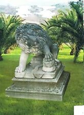 Garten, Dekoration, Löwen, Tierfiguren,Löwe,Statuen,Statue, (ohne Sockel)