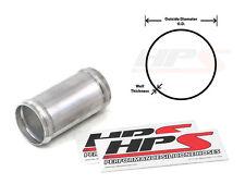 "6"" LONG HPS 1.25"" 32mm Aluminum Joiner Tubing Intake Pipe w/ Bead Roll 16 Gauge"