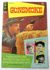 1969 Gold Key Gunsmoke #1 Comic Western Matt Dillon FN/VF 7.2