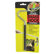 "ZOO MED ADJUSTABLE SNAKE HOOK DELUXE COLLAPSIBLE 7.25"" TO 26"" FREE SHIP TO USA"