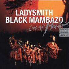 NEW!! LADYSMITH BLACK MAMBAZO Live at Montreux 1987, 1989, 2000 (CD, 2005)
