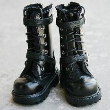 [wamami] 1/3 Black For SD DOD BJD Dollfie Leather Boots/Shoes