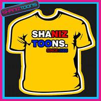 SHANIZTOONS PRINTED ADULTS MENS T SHIRT