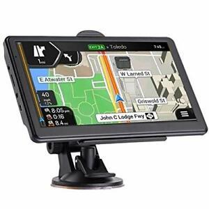 7 Inch Car Gps Navigation Touch Screen Garmin With Maps Spoken Direction 2021