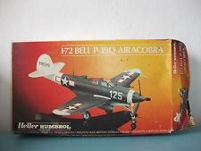 03.04.16.4 Heller avion Bell P-39Q Airacobra maquette 1/72 model kit plastic