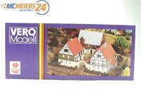 E143 VERO Modell H0 TT 2/57 Gebäude Bausatz Bauernhof Bauernhaus *NEU*
