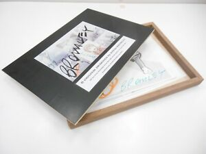David Bromley BOX of DRAWINGS 30x20cm ALL ORIGINAL in PRESENTATION BOX SIGNED