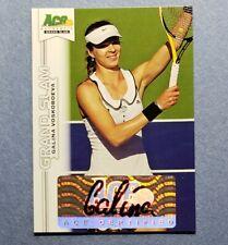 2013 Ace National Grand Slam, Galina Voskoboeva, Auto Autograph
